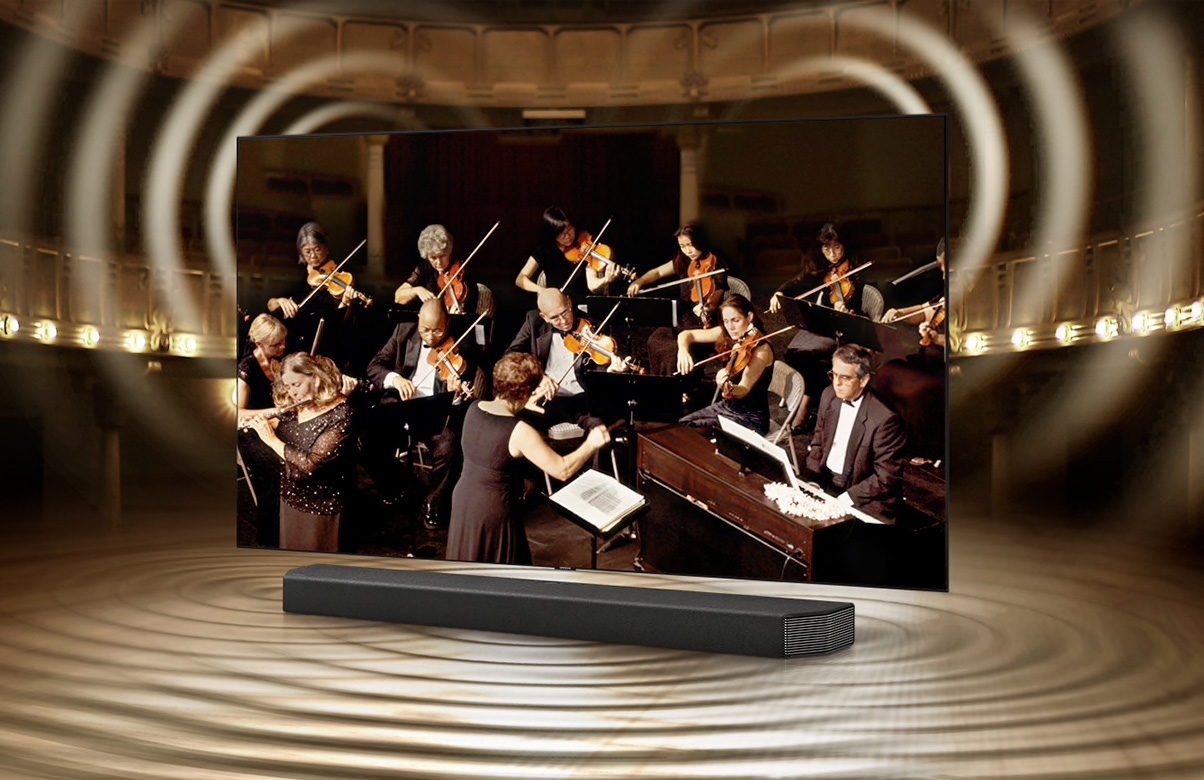 Samsung HW Q950T soundbar Q Symphony
