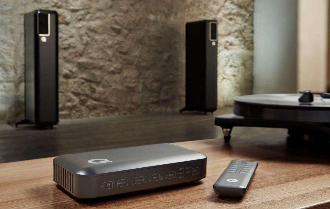 Q Acoustics hub actieve speakers