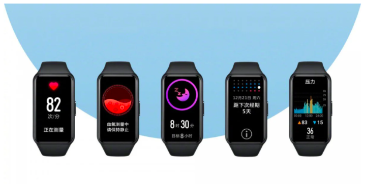 techweekmag Honor Band 6 A smartband with a smartwatch character