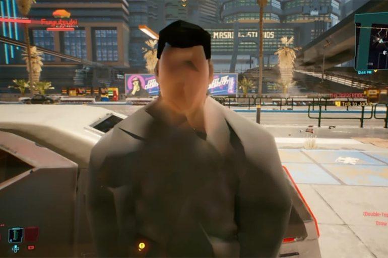 Cyberpunk PS4 Bug