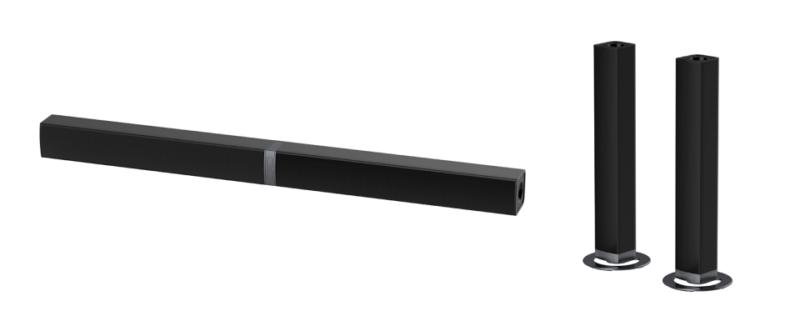 Cowin Soundbar saunbar zvukovaya panel obzor stereo tsena