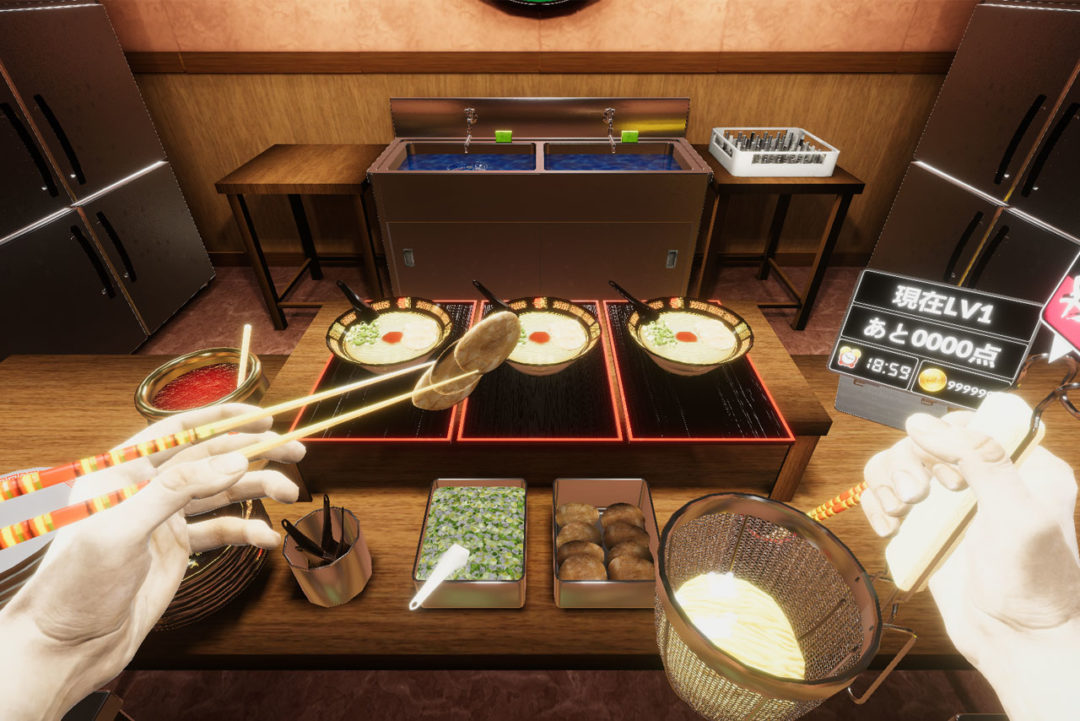 ichiran ramen vr cooking game noodles info 1