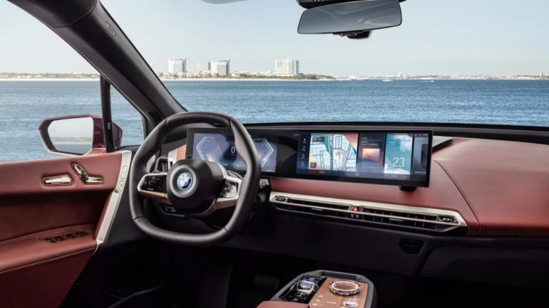 BMW unveils the eighth generation of branded iDrive multimedia system