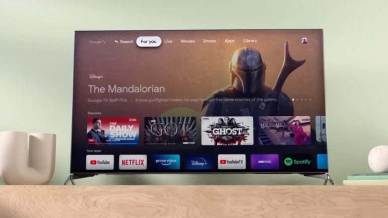 The Google TV app for smartphones now has a remote control for the Android TV platform