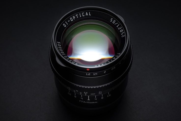 TTartisan 50mm F1.2 APS C for Leica L and Nikon Z cameras