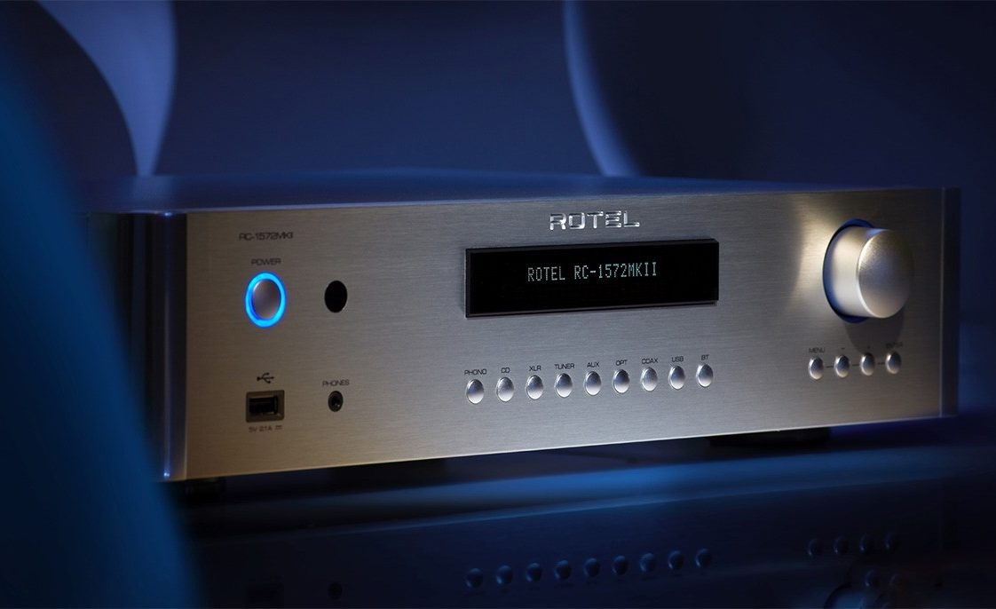 Rotel upgrades RC 1590 and RC 1572 preamplifiers