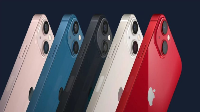 IPHONE 13 AND IPHONE 13 MINI UNVEILED REDUCED CUTOUT 12 PRO MAX CAMERA STABILIZATION AND NEW COLORS