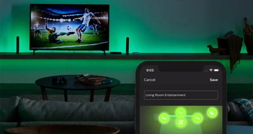 Philips Hue bulbs have learned to sync with Spotify