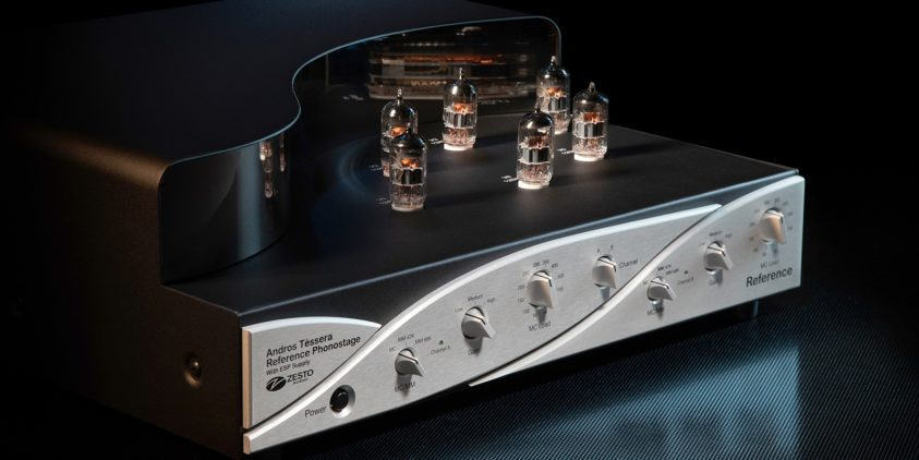 Zesto Audio Reference Grade updated model of the universal phono stage 2016