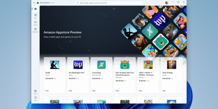 Microsoft unveils beta of Android app support for Windows 11