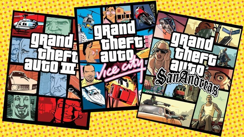 Traces of the GTA trilogy reissue found in the Rockstar launcher